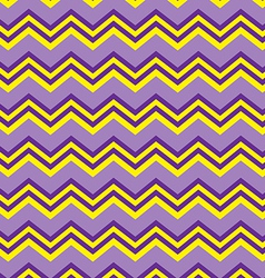 Chevron purple and yellow vector image vector image