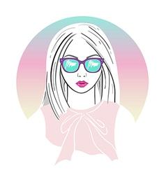 Fashion girl 314 vector