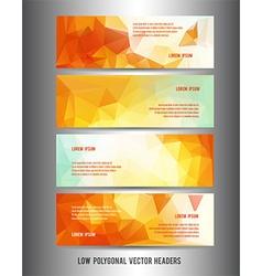 fall header vector image vector image