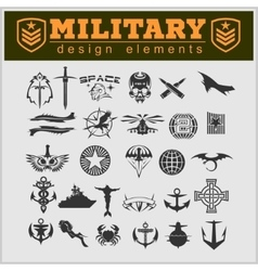 Special unit military patch vector