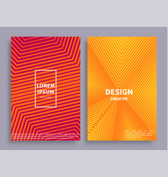 design creative banners set vector image vector image