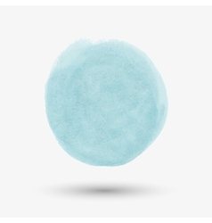 Watercolor round spot vector
