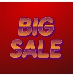 background big sale vector image