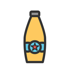 Beer bottle ii vector