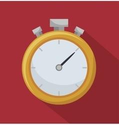Chronometer timer counter d icon vector
