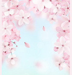 delicate floral design vector image