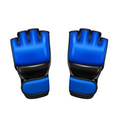 Gloves mma in vector