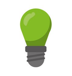 Green bulb lamp light environment vector