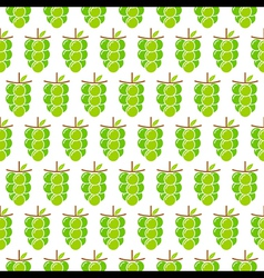 green grapes bunch pattern design for wrapping vector image