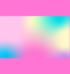 holographic abstract background modern trendy vector image