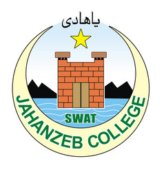 jahanzeb college log vector image