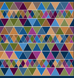 Pastel geometry endless pattern with colorful vector