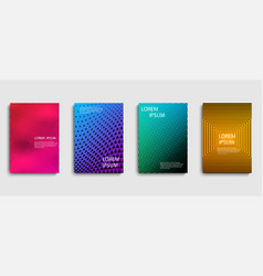 templates templates covers minimalistic design vector image