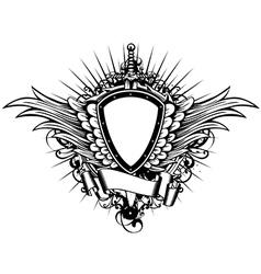 board sword wings3 vector image