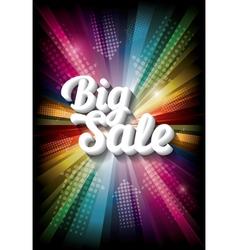big sale on rainbow vector image