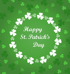 Card to St Patricks Day vector image
