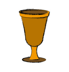 chalice icon isolate vector image