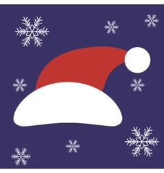 Christmas Santa Claus Hat in vector