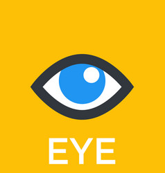 Eye icon sign vector