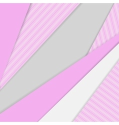 Geometrical background in material design style vector image