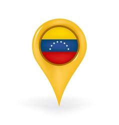 Location Venezuela vector image