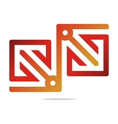 Logo Element Arrow Color Design Symbol Icon vector image