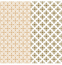 seamless pattern thailand traditional style vector image