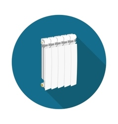 flat icon radiator vector image
