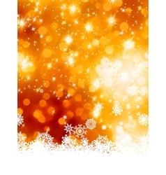 Abstract christmas with snowflake EPS 8 vector image vector image