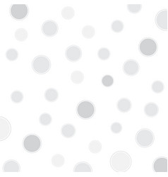 white background with circles vector image vector image