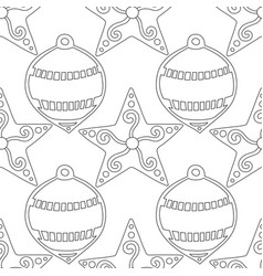 gingerbread black and white for vector image