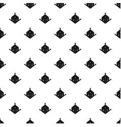 Measurement cube square pattern vector