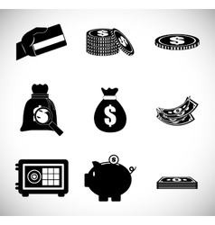 Money design value icon Flat vector image