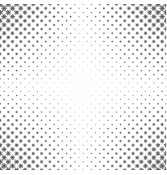 Monochrome geometrical pattern - abstract floral vector