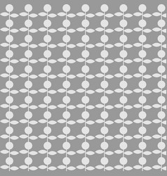 pattern flower on gray background vector image