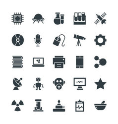 Science and Technology Cool Icons 2 vector