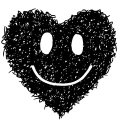smile face 1 vector image vector image