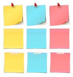 Beauty-Post-it-note-Collection vector