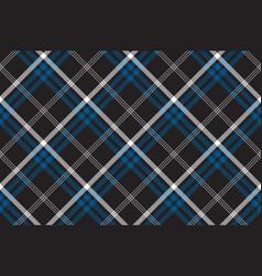 Black check seamless fabric texture vector