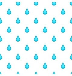 Drop of water pattern cartoon style vector