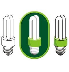 Fluorescent light vector