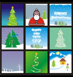 holiday banners vector image