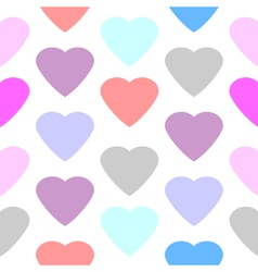 Love heart seamless pattern vector
