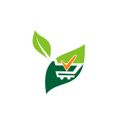 Shop gardening verified vector