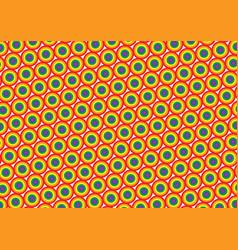 gay pride flag pattern vector image