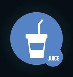 beverage icon vector image vector image