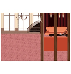 Elegant Home Interior vector image vector image