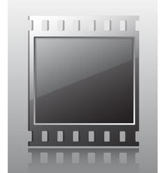 Film button vector