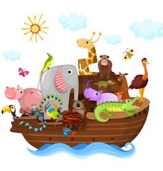 Noahs Ark vector image