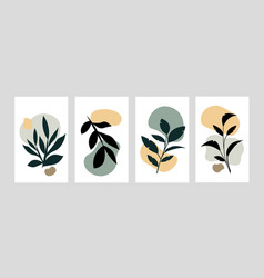 abstract art nature vector image